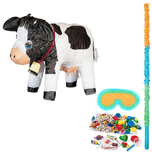 BirthdayExpress Cow Party Supplies Pinata Kit by BirthdayExpress