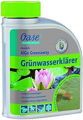 Oase de purificador de Agua Algo Algas Greenaway 500 ml, Plata ...