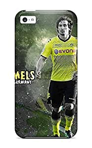 Anti-scratch And Shatterproof Mats Hummels Phone Case For Iphone 5c/ High Quality Tpu Case