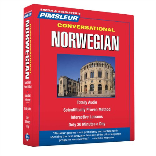Pimsleur Norwegian Conversational Course - Level 1 Lessons 1-16 CD: Learn to Speak and Understand Norwegian with Pimsleur Language Programs by Pimsleur