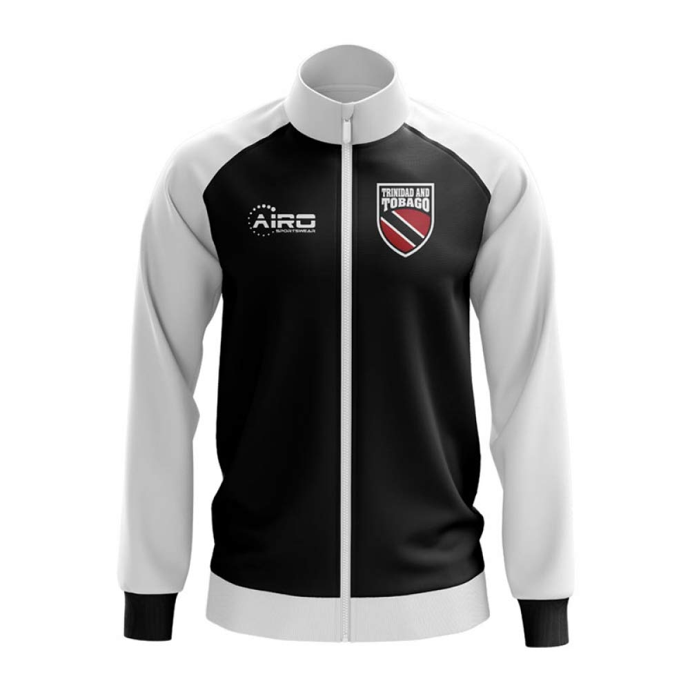 Airo Sportswear Trinidad and Tobago Concept Football Track Jacket (schwarz)