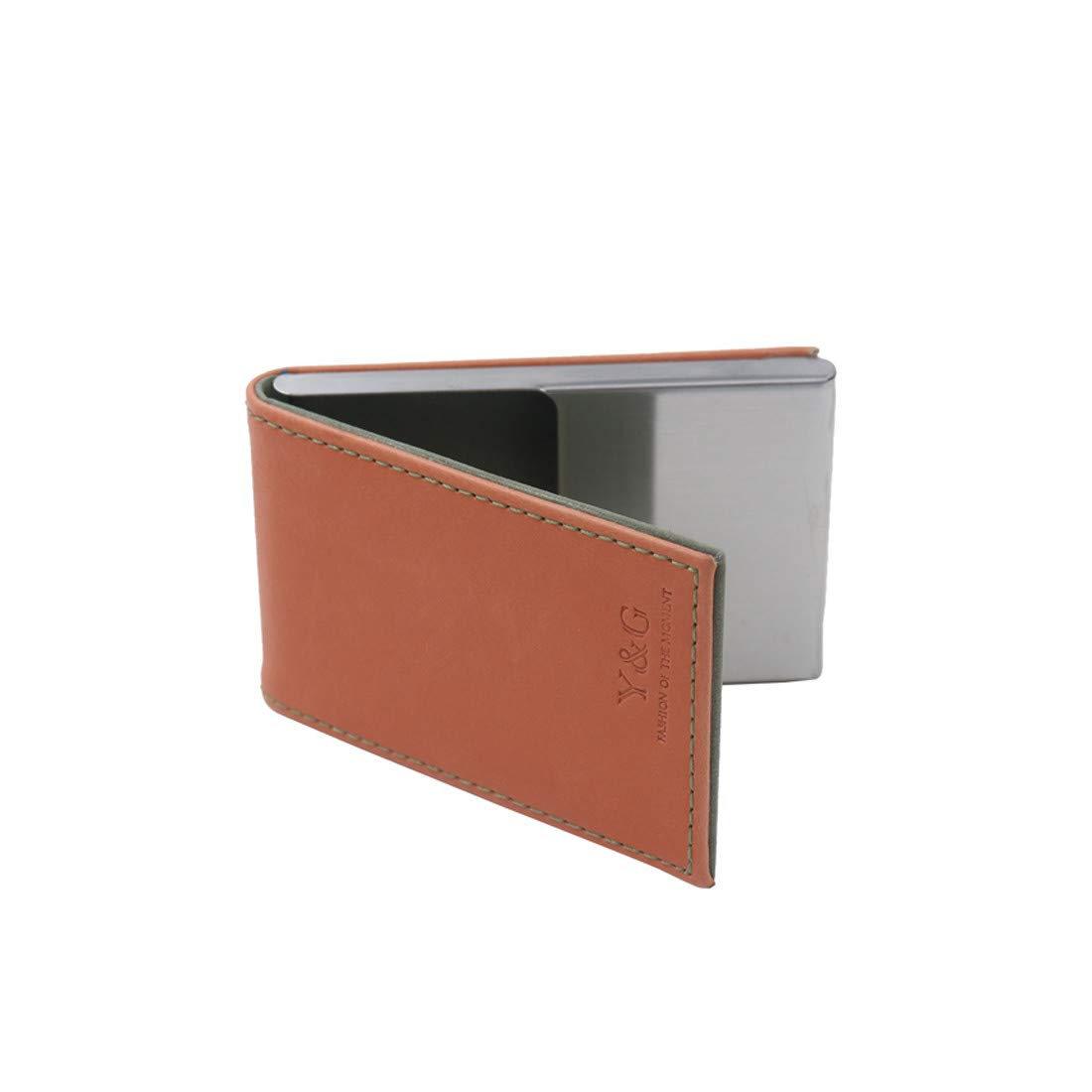 Y/&G Mens Fashion Mens Leather PU Credit ID Card Case with Magnetic