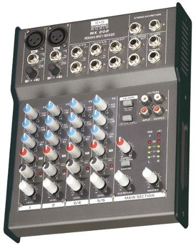 Definitive Audio MX 202 Console de mixage Noir camazone100