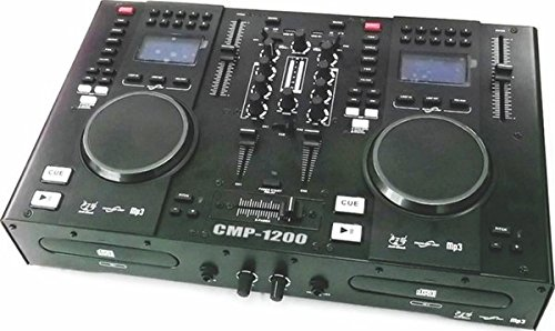 GemSound CMP-1200 Dual CD and MP3 DJ Mixer and MIDI Controller by Gem Sound