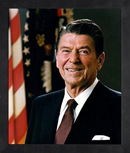 President Ronald Reagan - Official Portrait - Framed 8x10 Photo by Historical Photos
