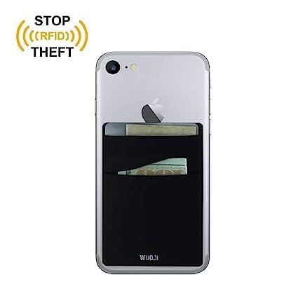 Phone Card Holder >> Rfid Blocking Phone Card Wallet Double Secure Pocket Ultra Slim
