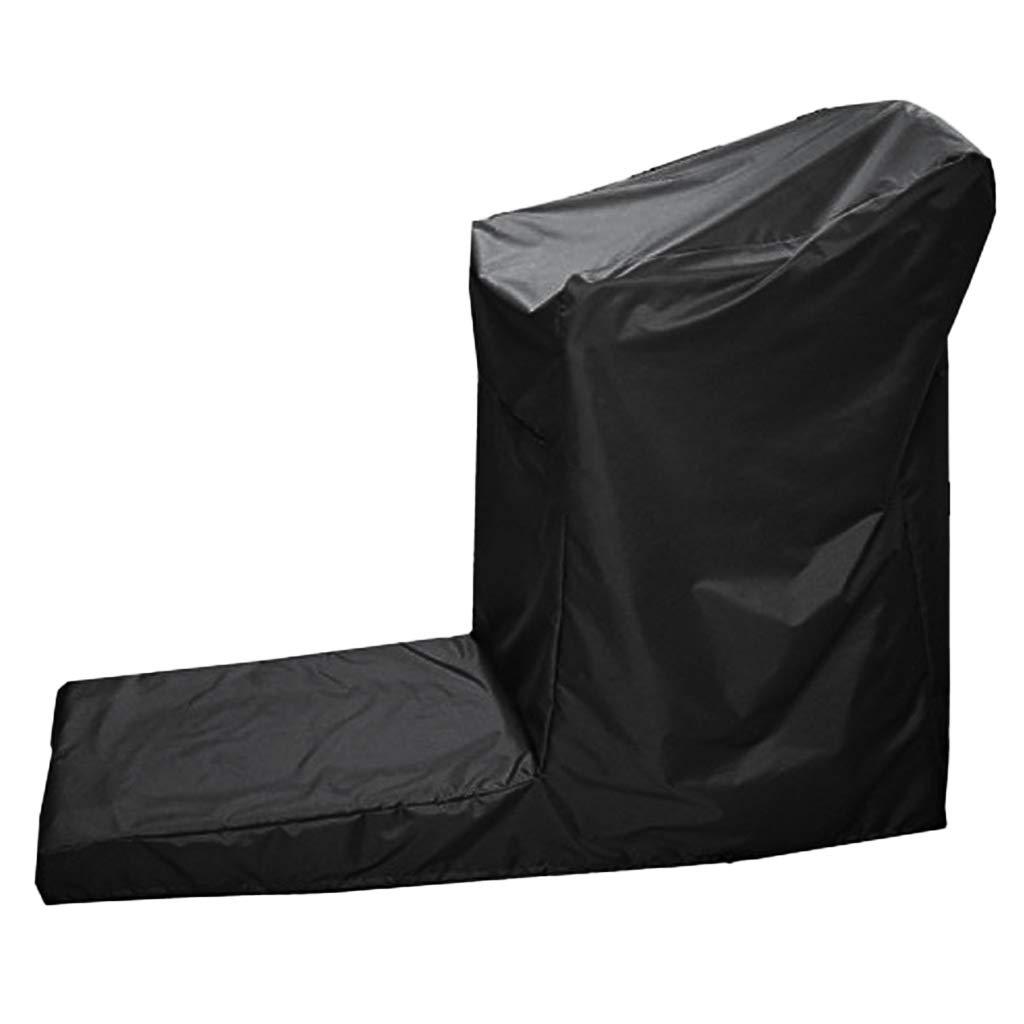 SM SunniMix Indoor Outdoor Treadmill Cover Jogging Machine Waterproof Cover Dustproof Protectors 165x76x140cm /185x91x155-185x91x155cm by SM SunniMix (Image #3)
