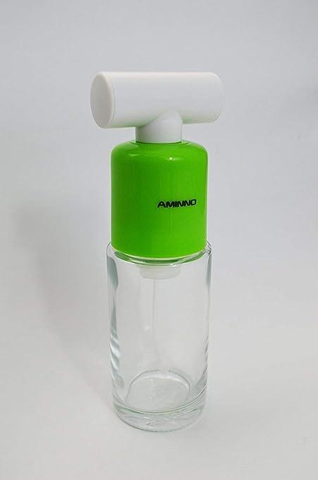 Bomba Acción alimentos Mister botella con cubierta de polvo (3.4 oz) – mejor cocina