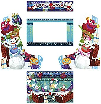 Vinilos máquina recreativa bartop arcade snow bros: Amazon.es ...