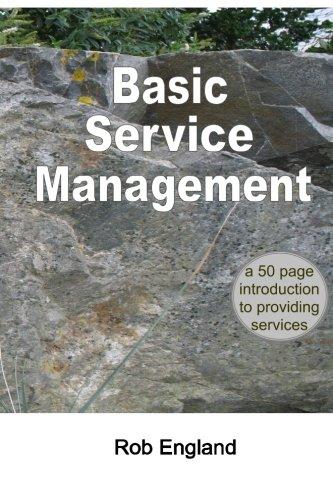 basic service management - 1