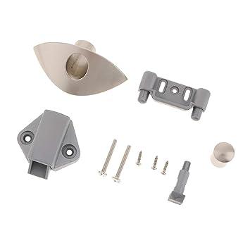 Amazon com: Baosity Push Button Catch Pop Up Locks Knob