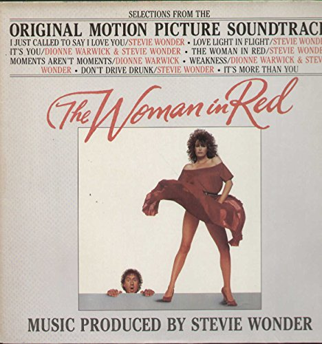 Wonder Woman Vinyl - The Woman in Red
