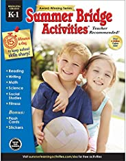 Summer Bridge Activities - Grades K - 1, Workbook for Summer Learning Loss, Math, Reading, Writing and More wi