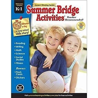 Summer Bridge Activities | Bridging Grades K-1 | Summer Learning Workbook | 160pgs