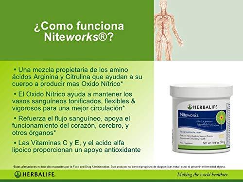 Amazon.com : Herbalife Niteworks Powder Mix (Orange Mango 10.6oz : Everything Else