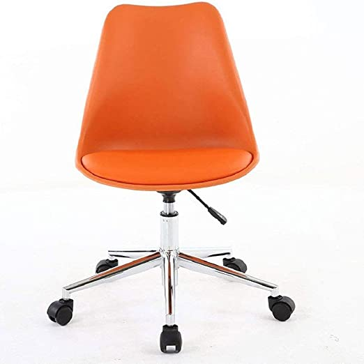 Amazon Com Xlhjfdi Office Chairs Office Chair Nordic Computer Chair Small Office Chair Small Modern Chair Simple Student Chair Home Convenient Size 48 43 86 96 Cm Color Orange Kitchen Dining