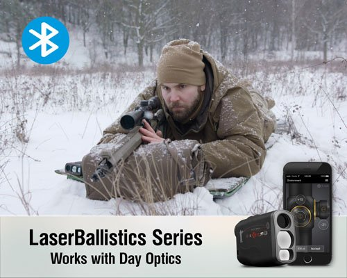 515oaq3xQPL - ATN Laser Ballistics 1000 Smart Laser Rangefinder w/Bluetooth, device works with Mil and MOA scopes using ATN Ballistic Calculator App