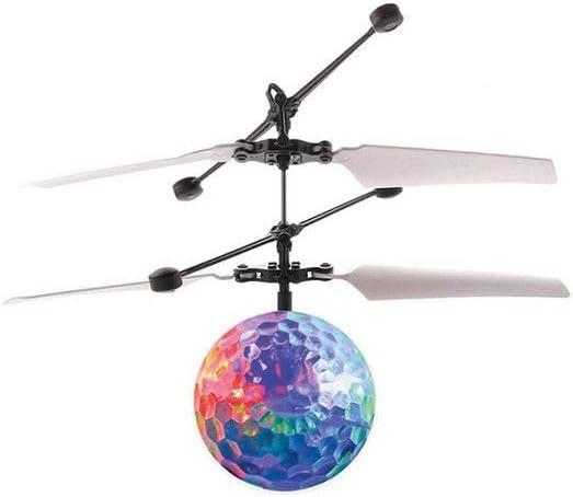 Minihelicóptero, con esfera volante, bola luminosa, juguete para ...