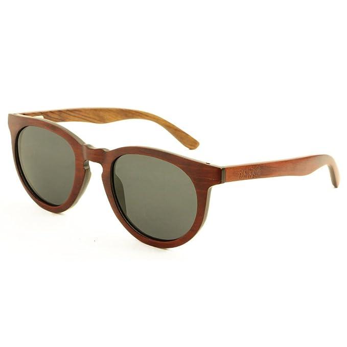 RawWood Polarizado Madera Gafas De Sol Marrón/Humo - Oliver Brown/Smoke: Amazon.es: Ropa y accesorios