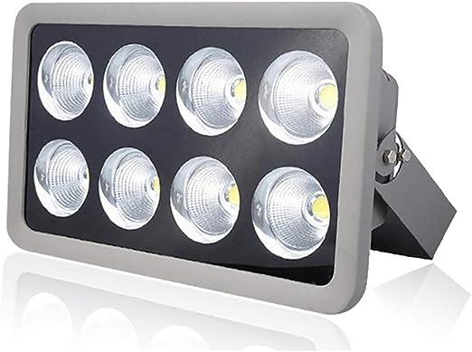 Reflector LED 400W Reflector para Exteriores, Impermeable, para la ...