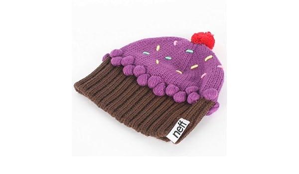 4fe35f176 Neff Cupcake Beanie - neon purple, Skullies & Beanies - Amazon Canada