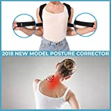 Posture Corrector Brace For Women & Men Adjustable Clavicle Brace With Extended Support Straps