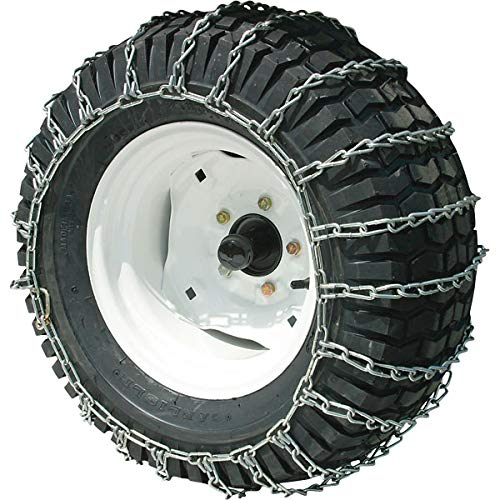 Peerless Security Chain 18x9.50-8, 18x8.50-10 Max Trac Chains 2-Link Snow Blower Tire Chains by Peerless