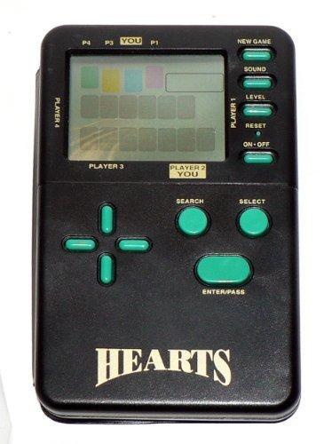 Hearts Classic Card Games Electronic Handheld Travel Game by MGA [並行輸入品] B019NVQ4Y2