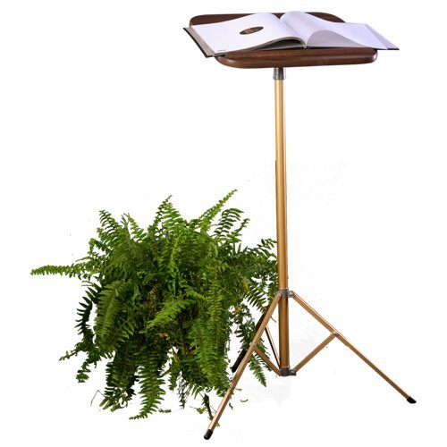 XL Industries Fixed Pedestal Portable Lectern Built for the Professional-Stands 42'' Tall by XL IndustriesTM