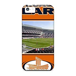 InesWeldon Iphone 5c Durable Hard Cell-phone Cases Support Personal Customs Colorful Chicago Bears Pattern [DBS8854XyXR]