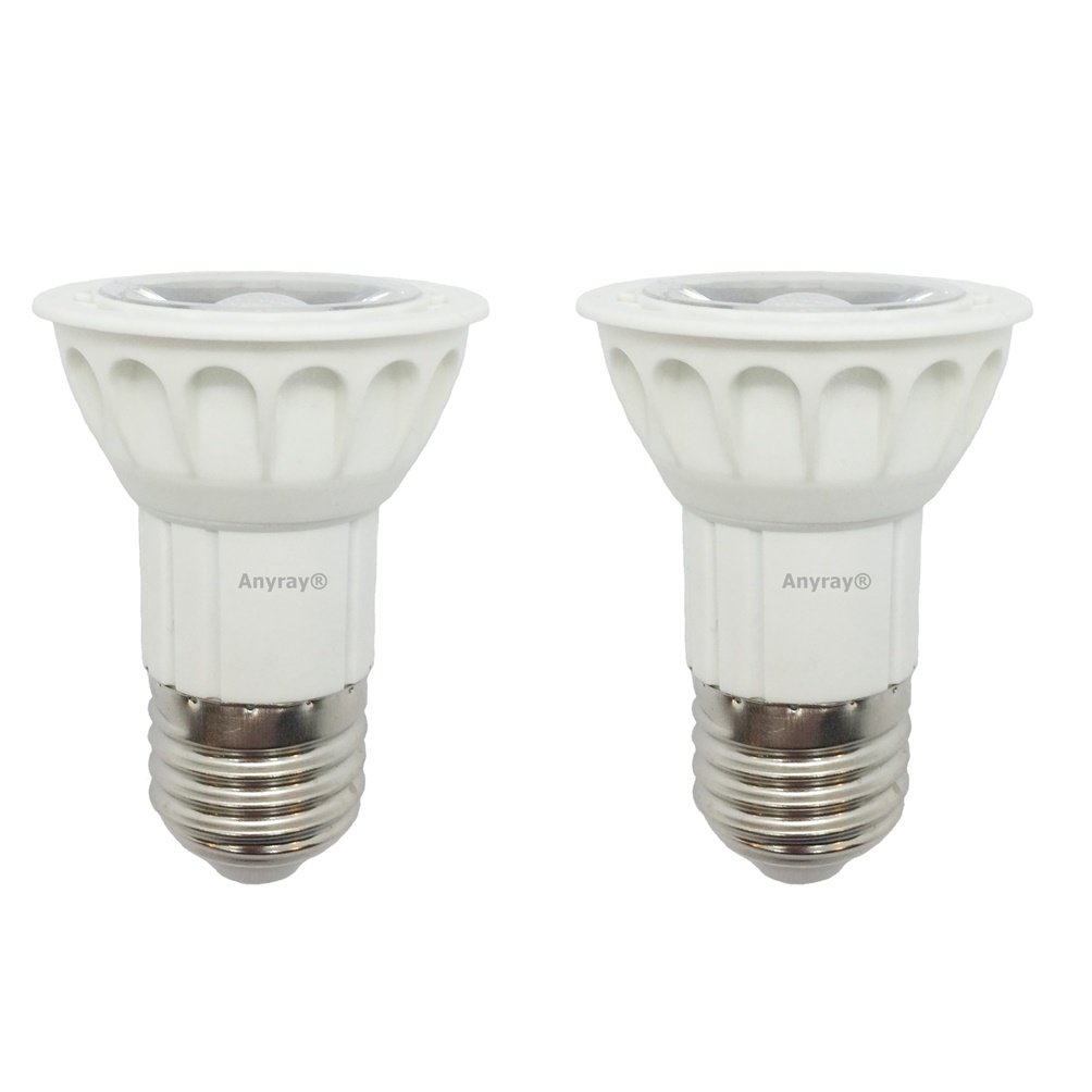 2-LED Bulbs 5W Anyray Universal Replacement Bulb for Hoods 75 Watt standard 75W E27