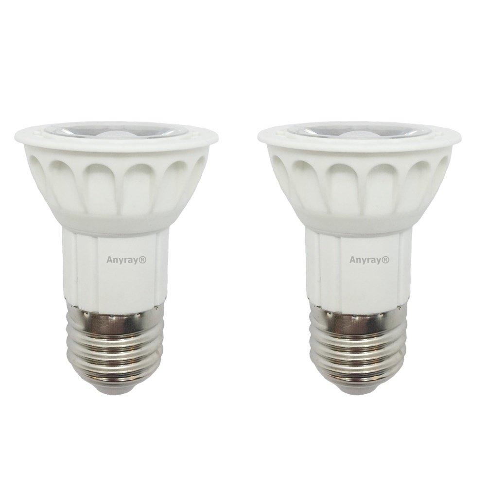 2-LED Bulbs 5W Anyray Universal Replacement Bulb for Hoods 75 Watt standard 75W E27