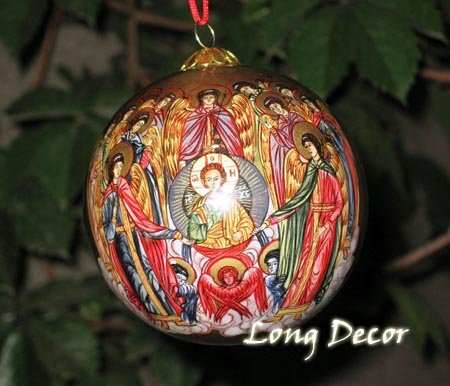 Synaxis of Angels Christmas Ornament