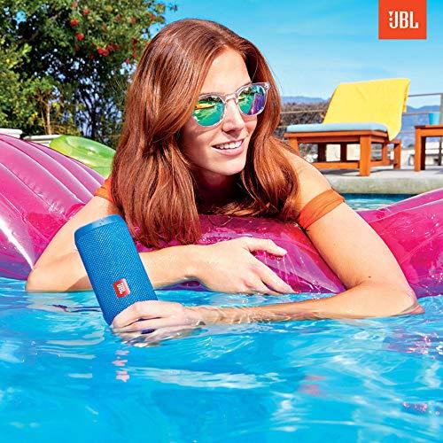 JBL Flip 4 Waterproof Portable Bluetooth Speaker - Black