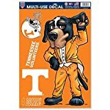 NCAA University of Tennessee 55978081 Multi Use Decal, 11 x 17, Black