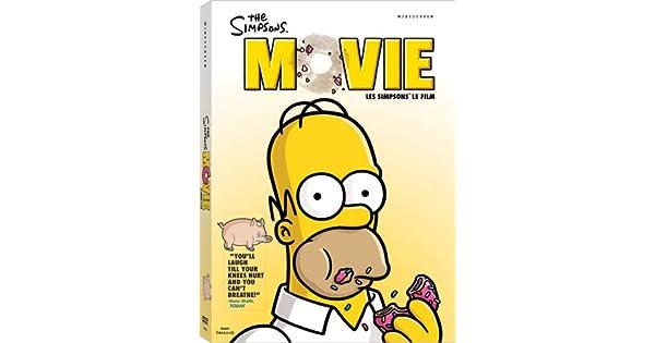 Amazon Com The Simpsons Movie Les Simpsons Le Film Widescreen Dan Castellaneta Julie Kavner Nancy Cartwright Yeardley Smith Hank Azaria David Silverman Cine Y Tv