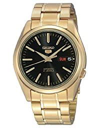 Seiko Men's SNKL50 Automatic-Self-Wind Black Dial Watch
