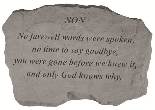 Kay Berry Inc Son-No Farewell Words, Multi Color