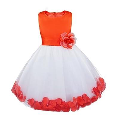 Sawanica Girls Summer Dress Dance Prom Dresses