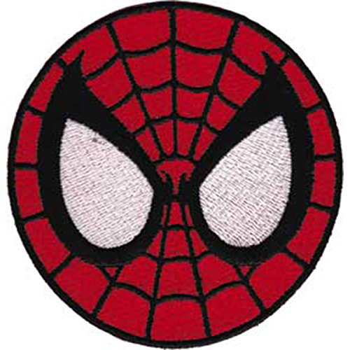 Application Spiderman Mask Patch