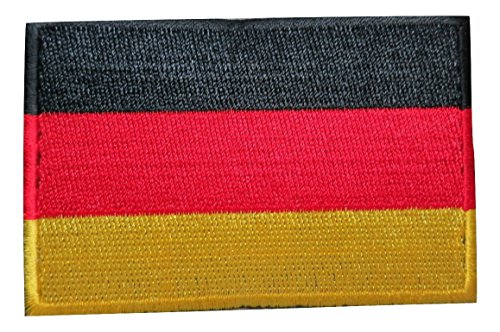 Germany German National Country Flag Embroidered Velcro Patc
