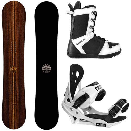 Camp Seven 2020 Roots and Summit Complete Snowboard Package