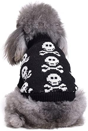 Black and Gray Pet Sweater