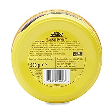 Formula 1 615026 Carnauba Paste Wax (230 g) 8