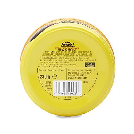 Formula 1 615026 Carnauba Paste Wax (230 g) 4