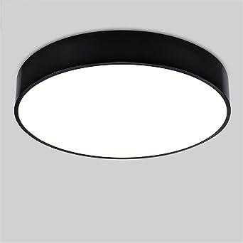 QIYUEQI Led Salón circular ideas balcón pasillo blanco 50cm apto ...