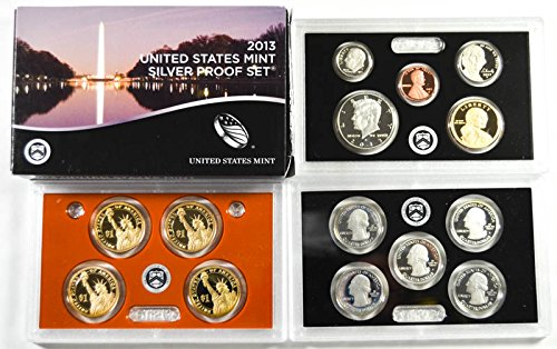 2013 S United States Mint Silver Proof Set Proof (2013 United States Mint Silver Proof Set)