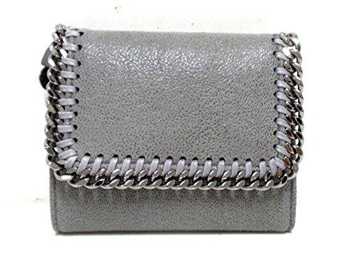 (ステラマッカートニー) Stella McCartney 3つ折り財布 ファラベラ グレー 【中古】 B07FSJY8DZ  -