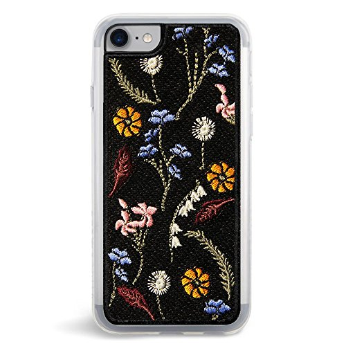 Embroidered Case Phone (ZERO GRAVITY Embroidered Fashion Cell Phone Case for Apple iPhone 7/8 (Gather))