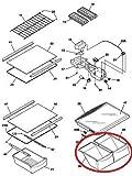 Lifetime Appliance 240337103 Crisper Bin Compatible